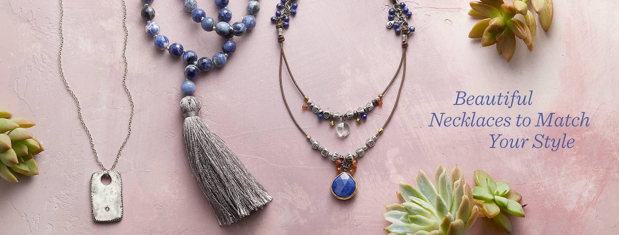 10fe5a1e85421 Handmade Necklaces | Robert Redford's Sundance Catalog