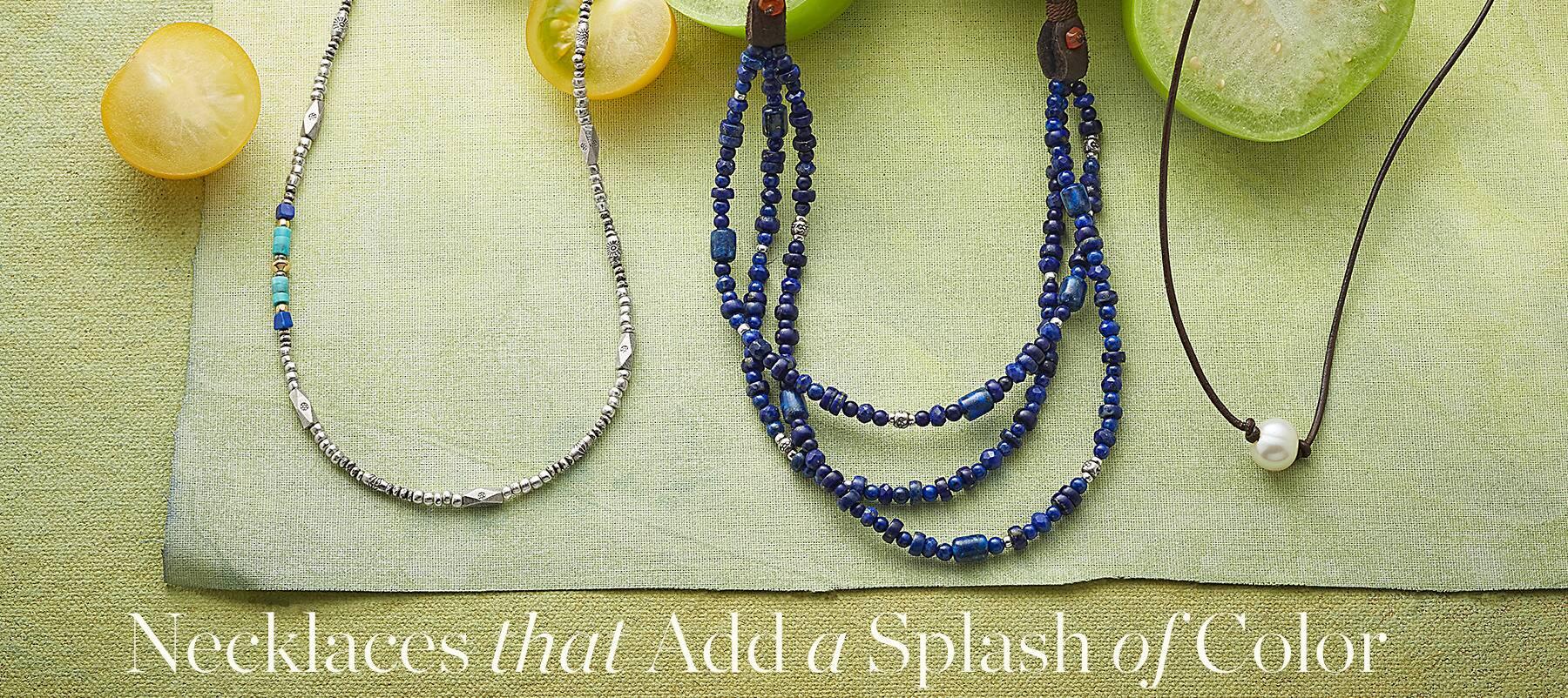 85ae54bdde Handmade Necklaces | Robert Redford's Sundance Catalog