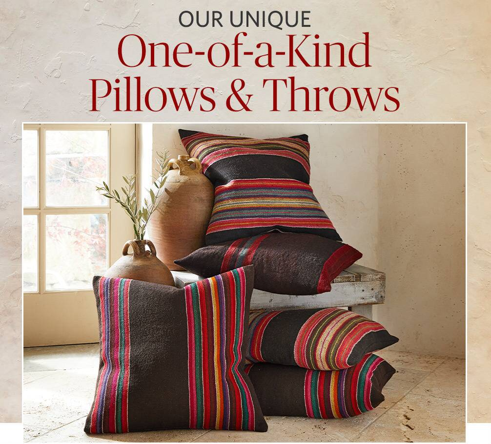 One of a Kind - Pillows & Throws