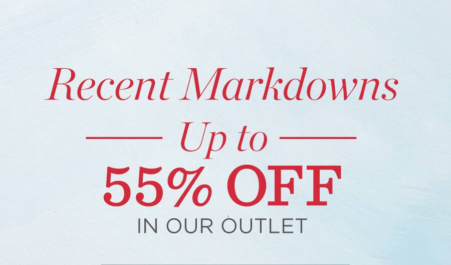 Recent Markdowns