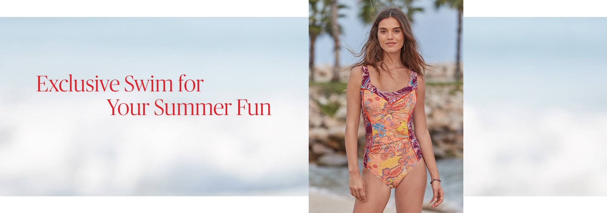 Exclusive Swim for Your Summer Fun