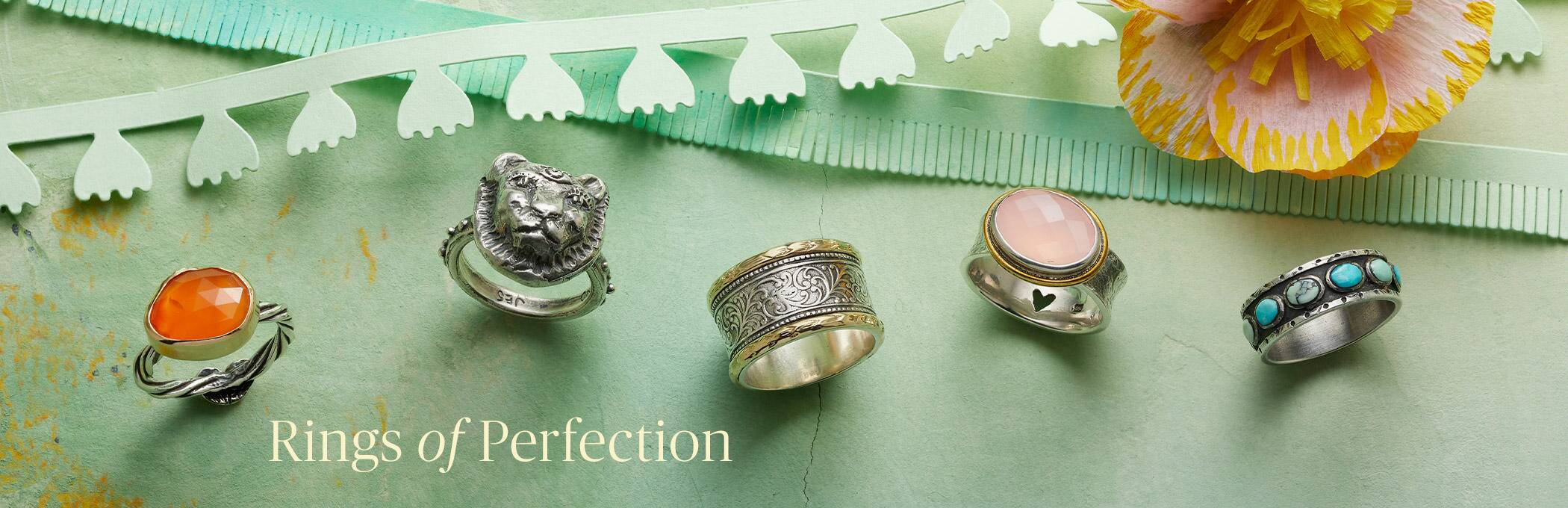 Rings of Perfection