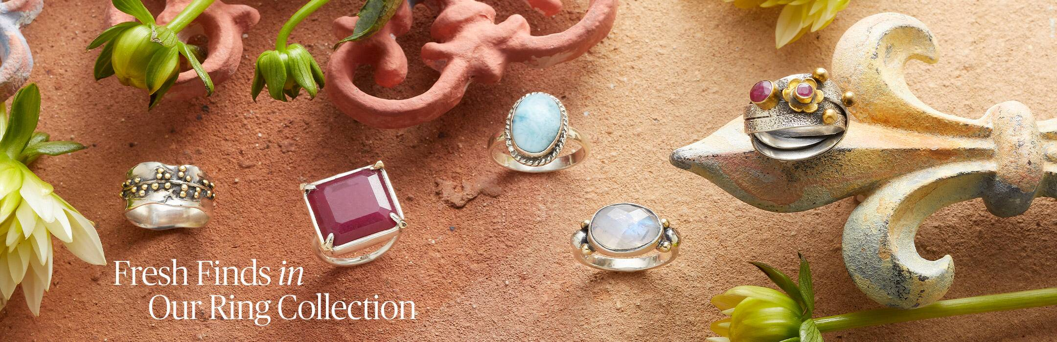 Fresh Finds In Our Ring Collection