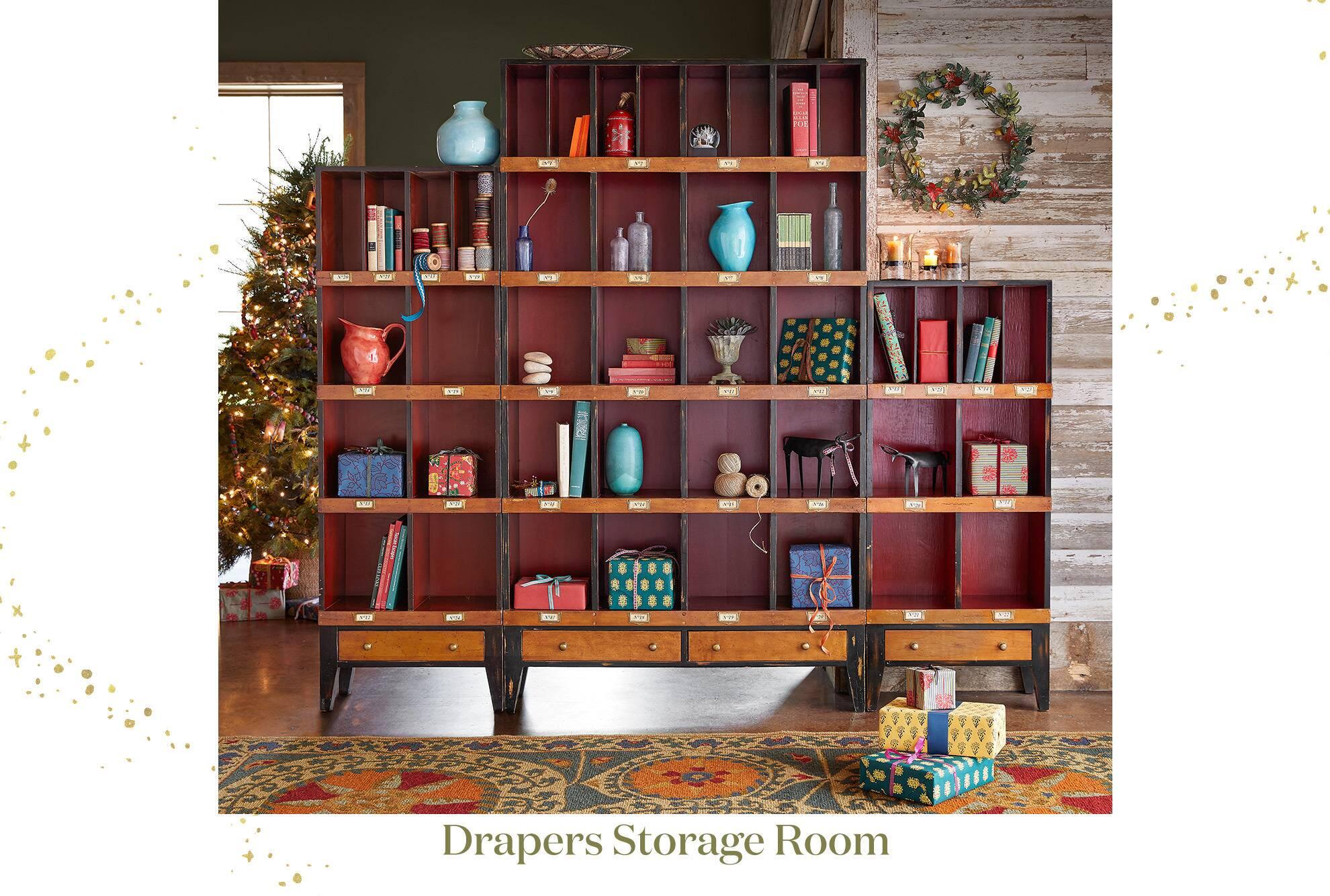 Drapers Storage Room