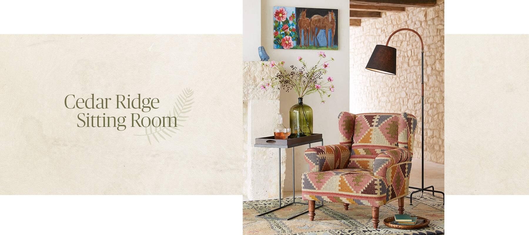 Cedar Ridge Sitting Room