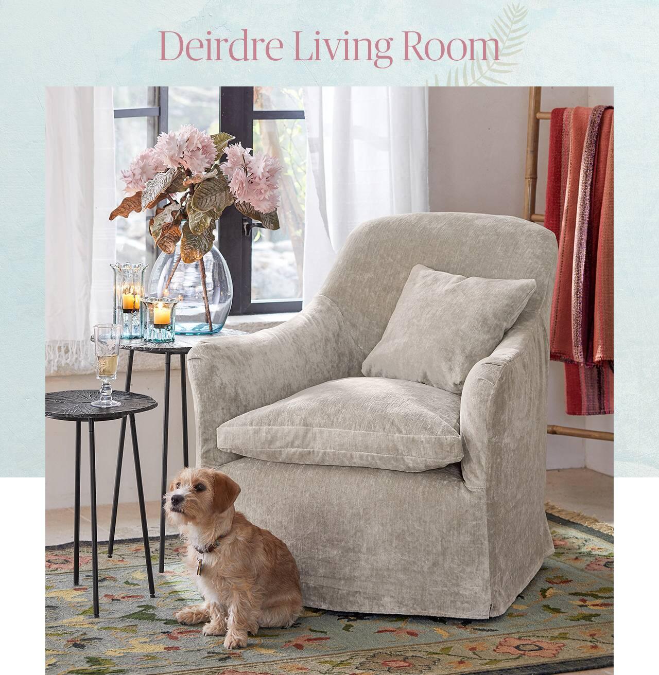 Deirdre Living Room