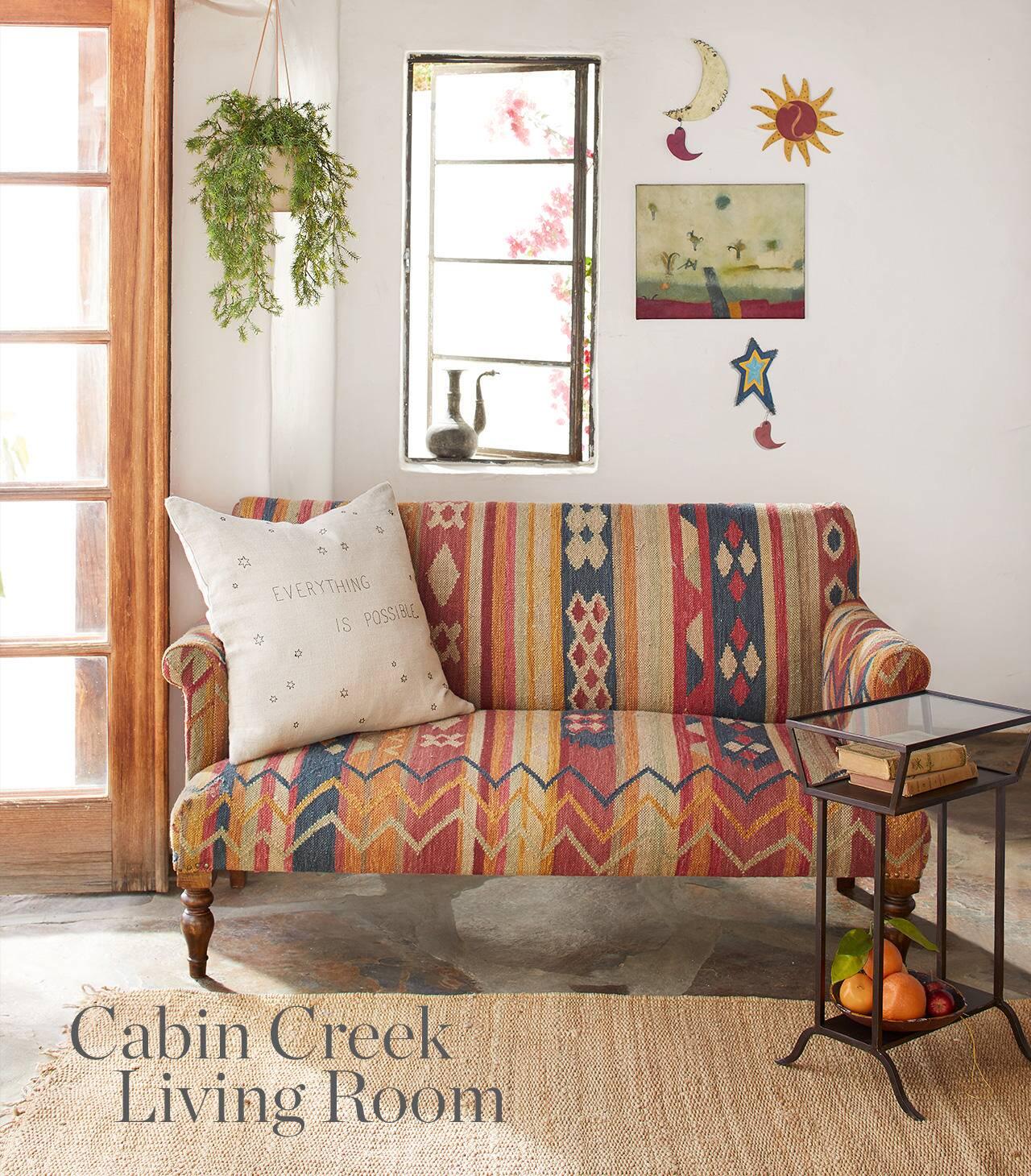 Cabin Creek Living Room
