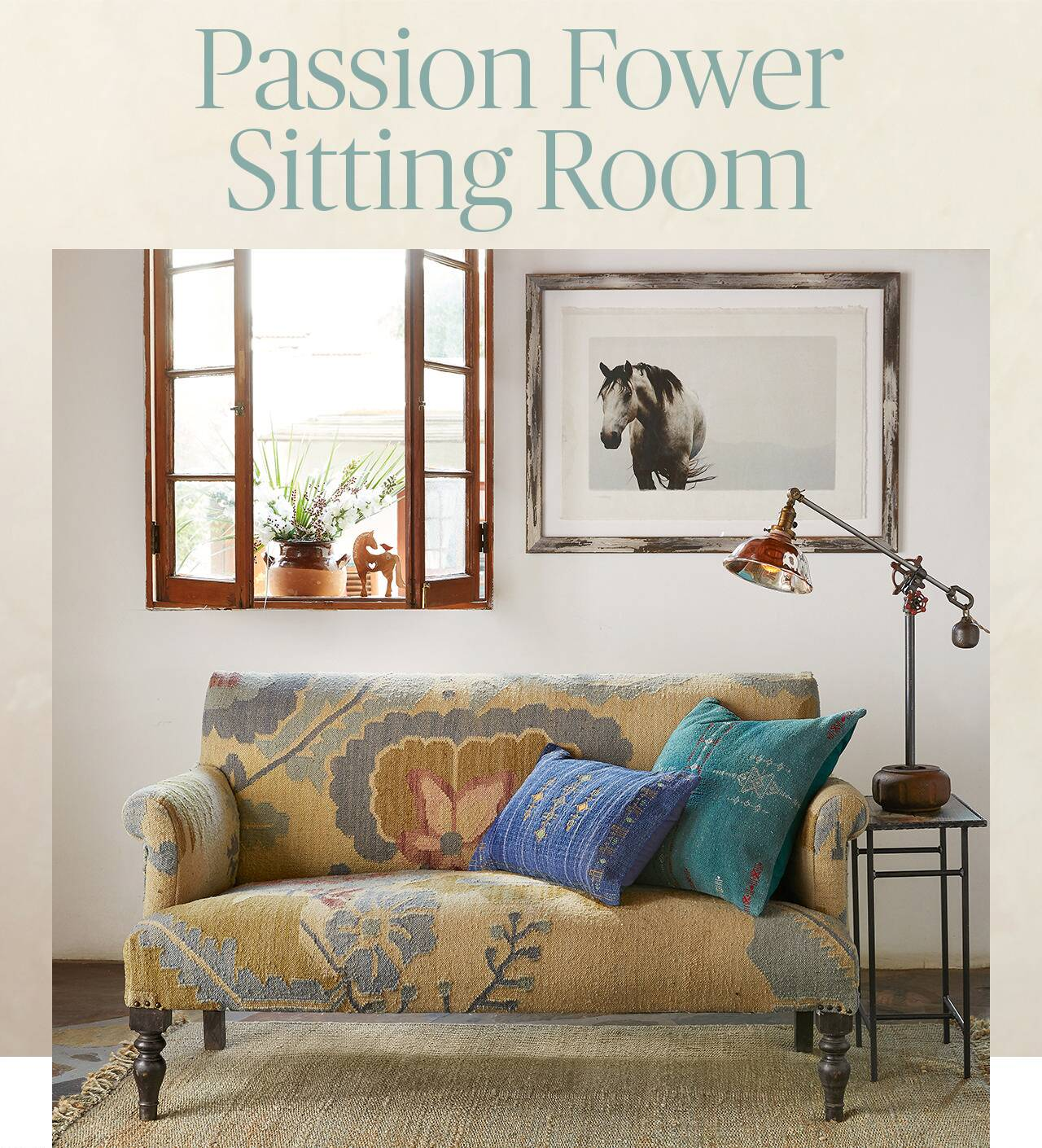 Passion Flower Sitting Room