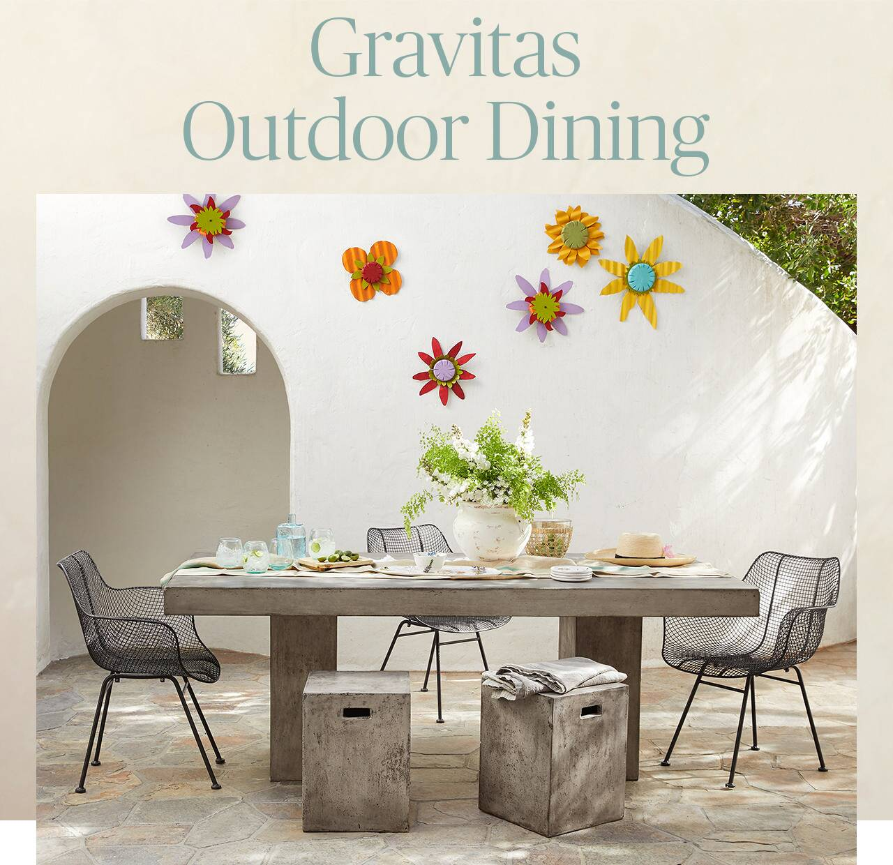 Gravitas Outdoor Dining