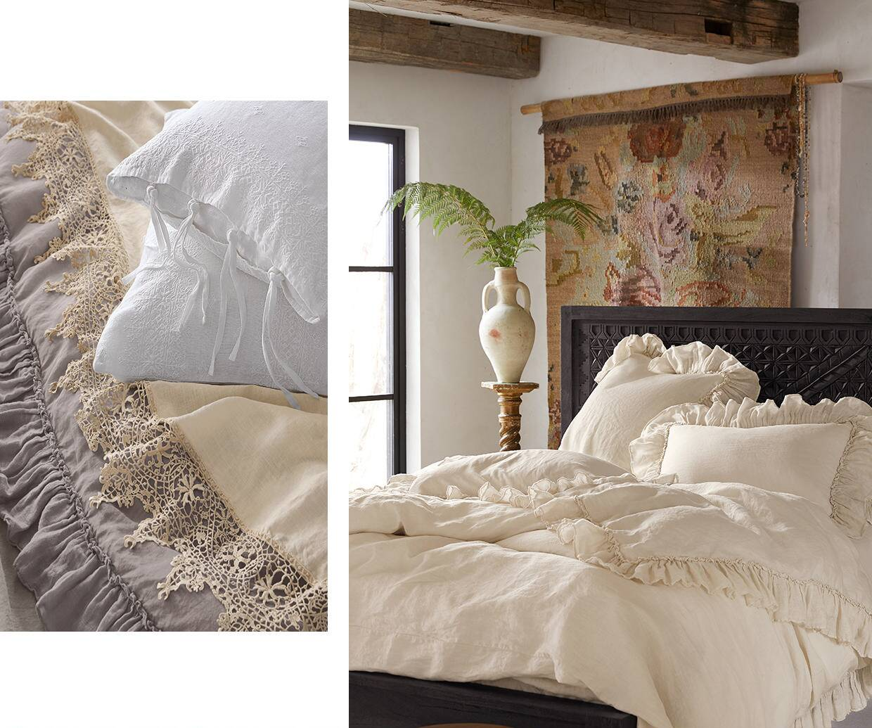 Envelope Yourself in Luxurious Linen Bedding
