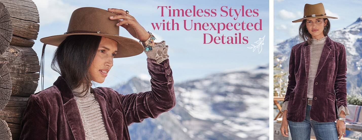 Timeless Styles with Unexpected Details