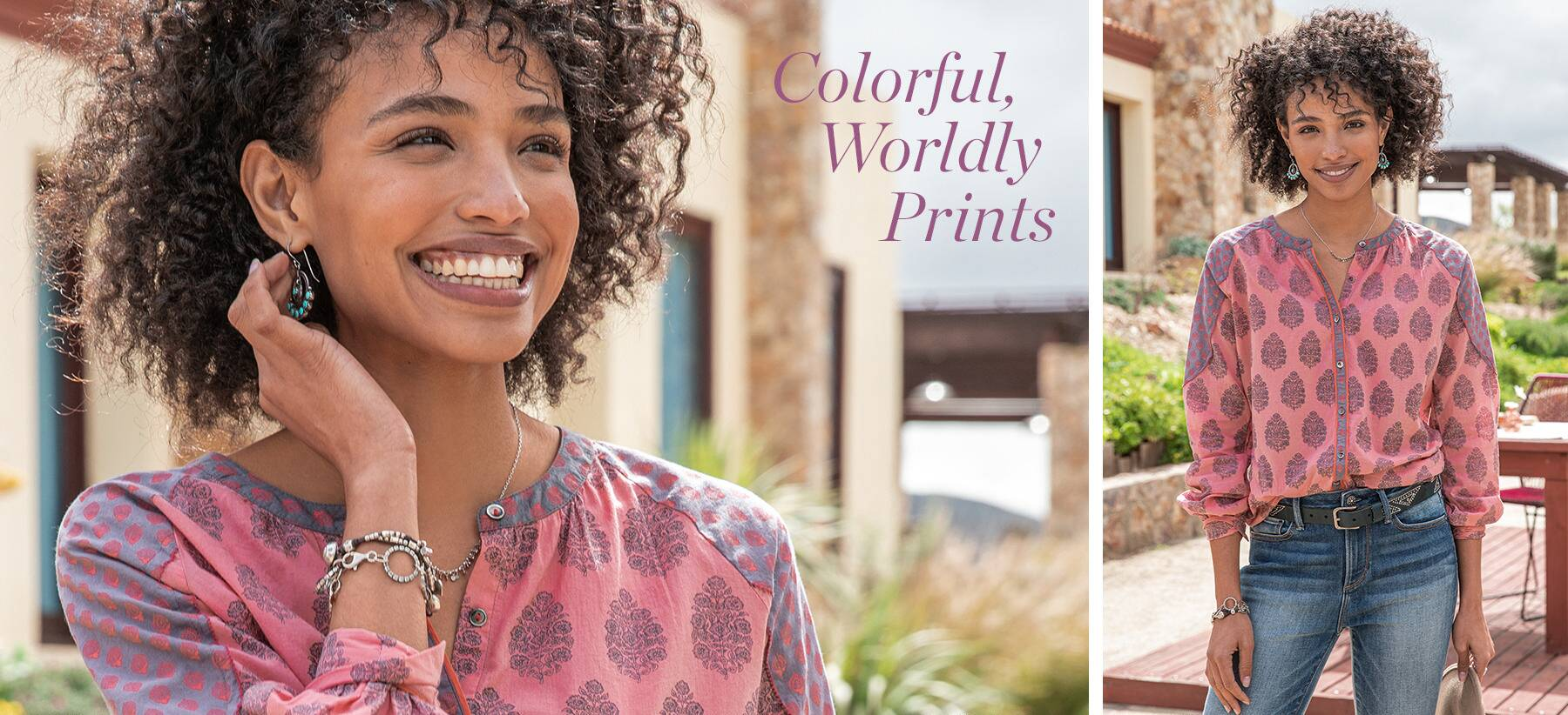 Colorful, Worldly Prints