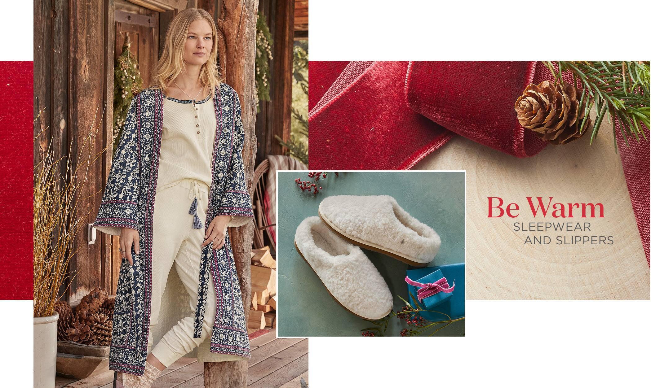 Women's Sleepwear and Slippers