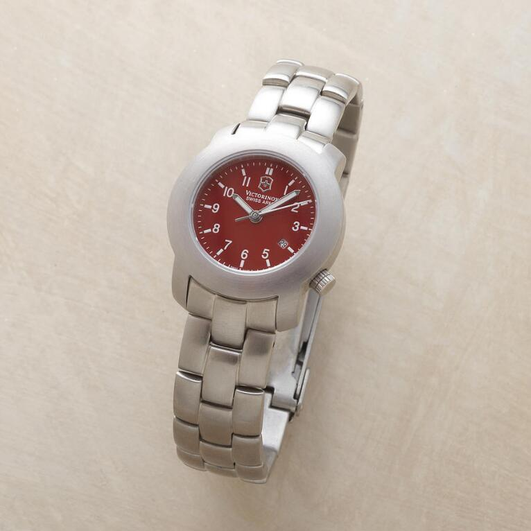 CHERRY RED SWISS ARMY WATCH