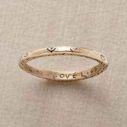 14KT YELLOW GOLD VITALITY RING