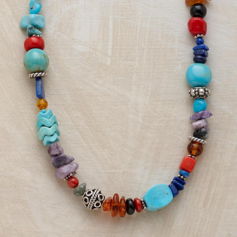 BRIGHT BEAD NECKLACE