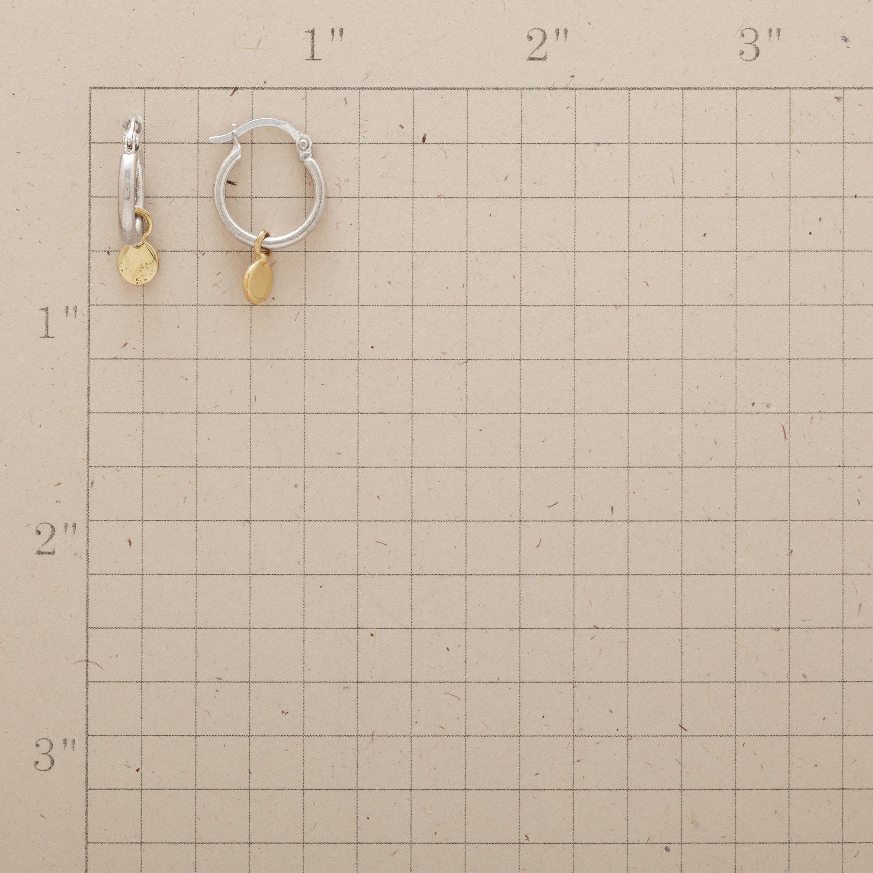 SUNDROP HOOP EARRINGS: View 2