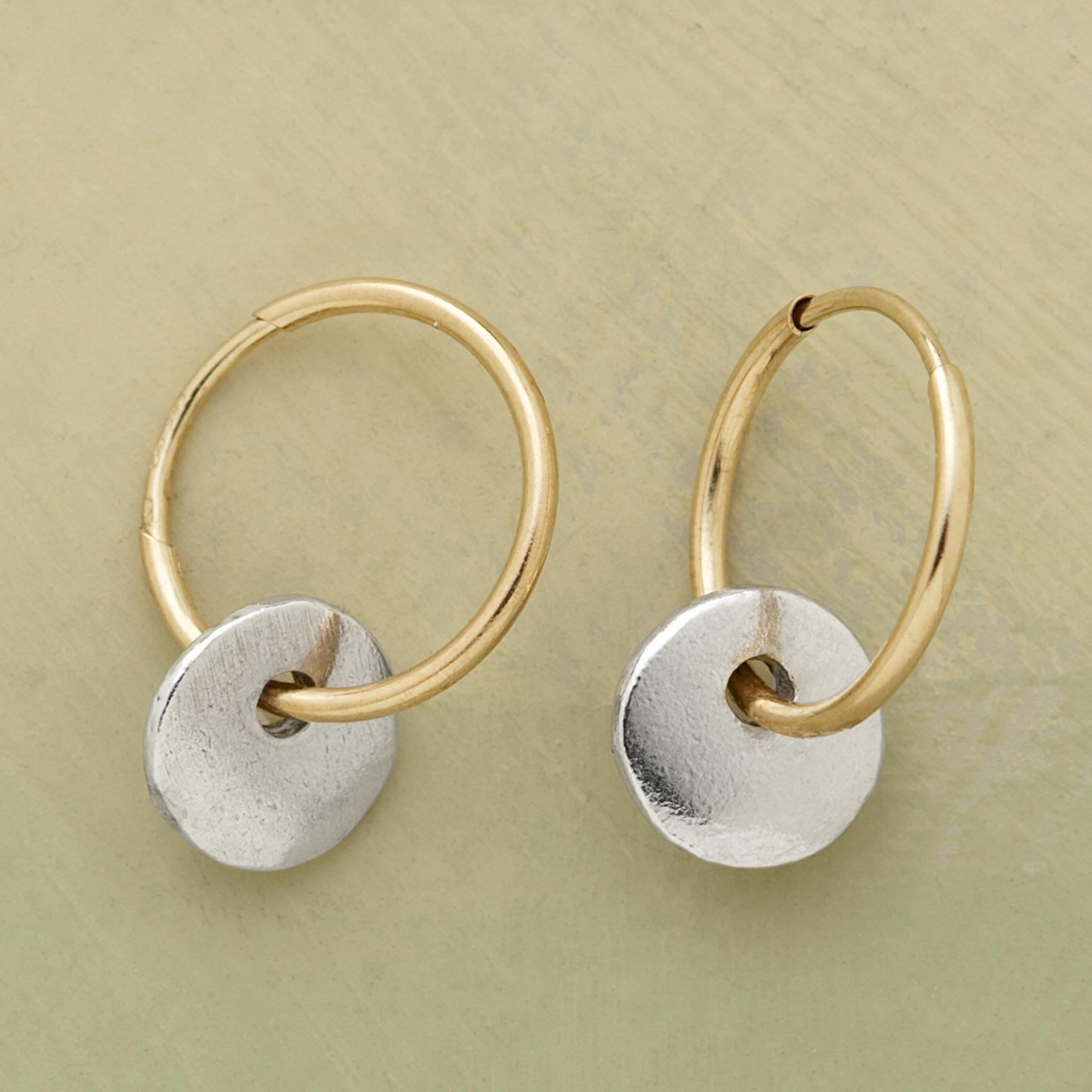 MOON AND SUN EARRINGS: View 1