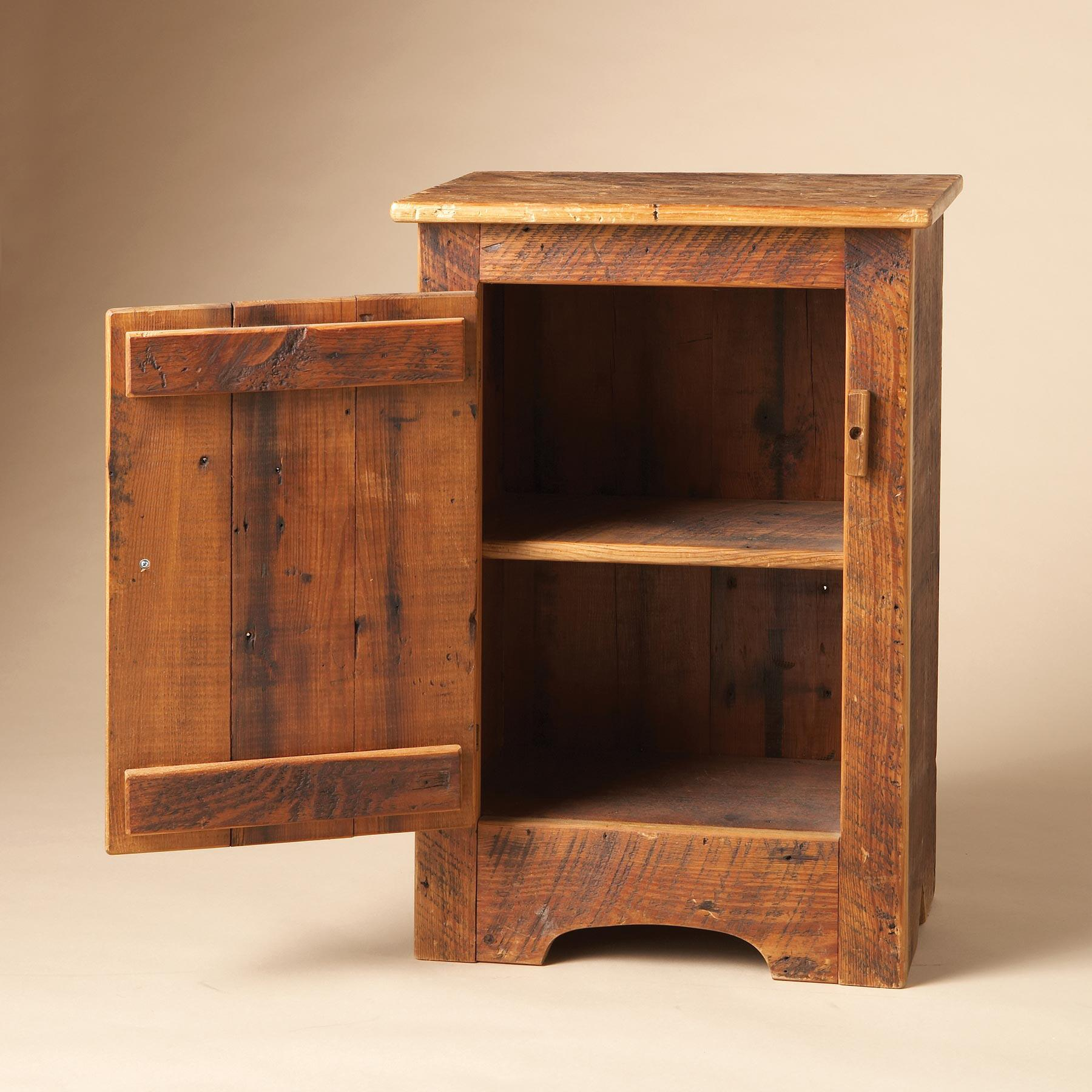 ANTIQUE PINE CABINET: View 2