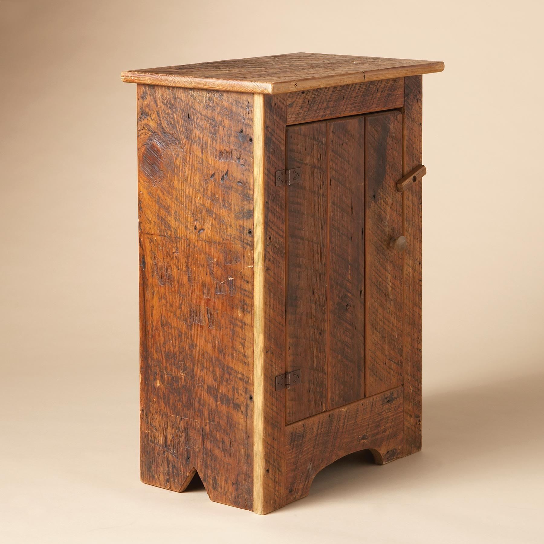 ANTIQUE PINE CABINET: View 3