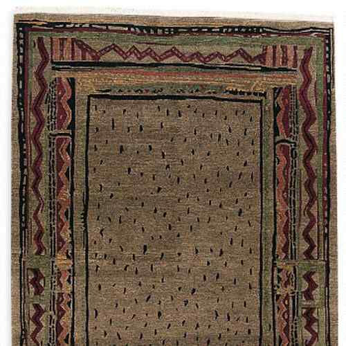 ANGOLA KNOTTED RUG