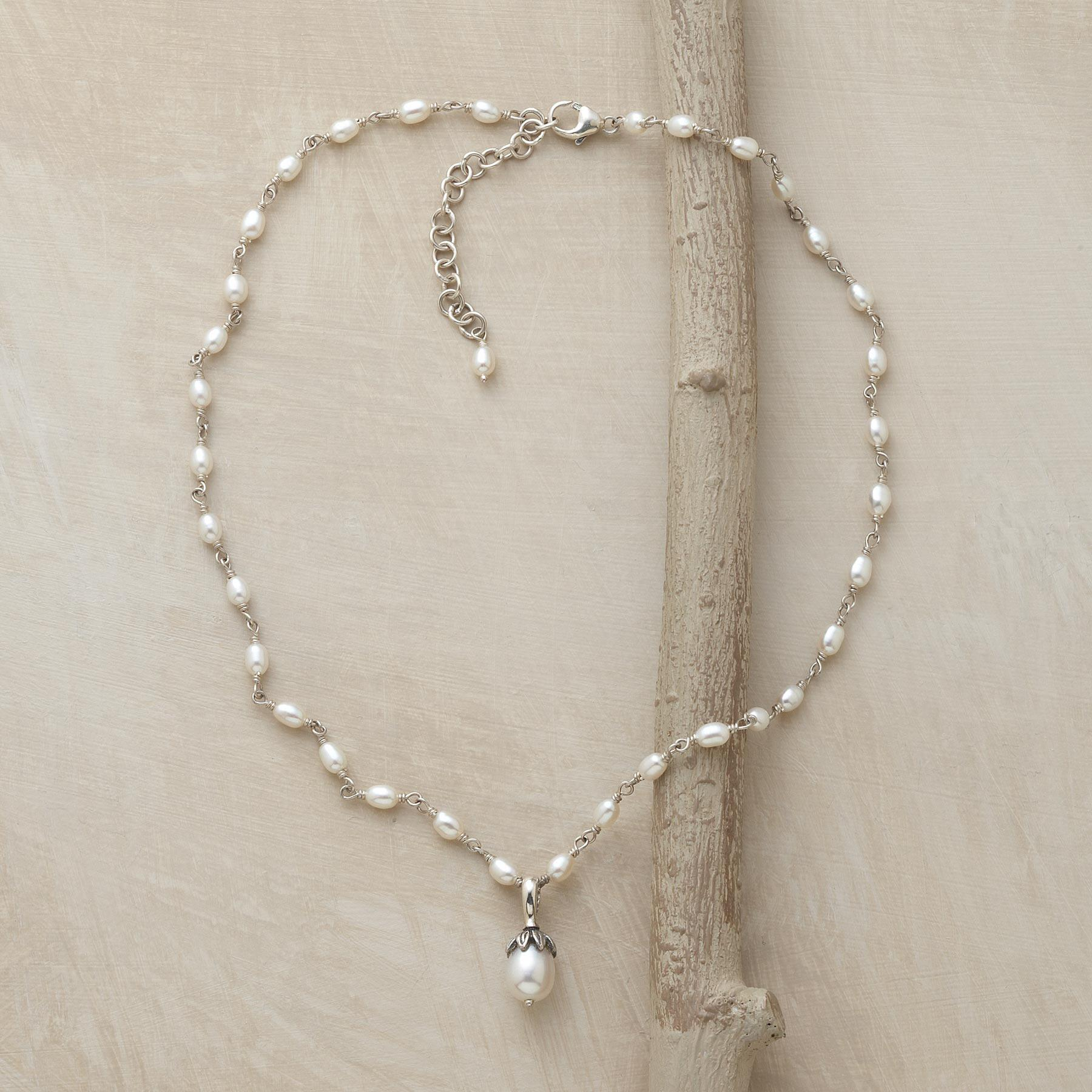 LOTUS PEARL NECKLACE: View 2