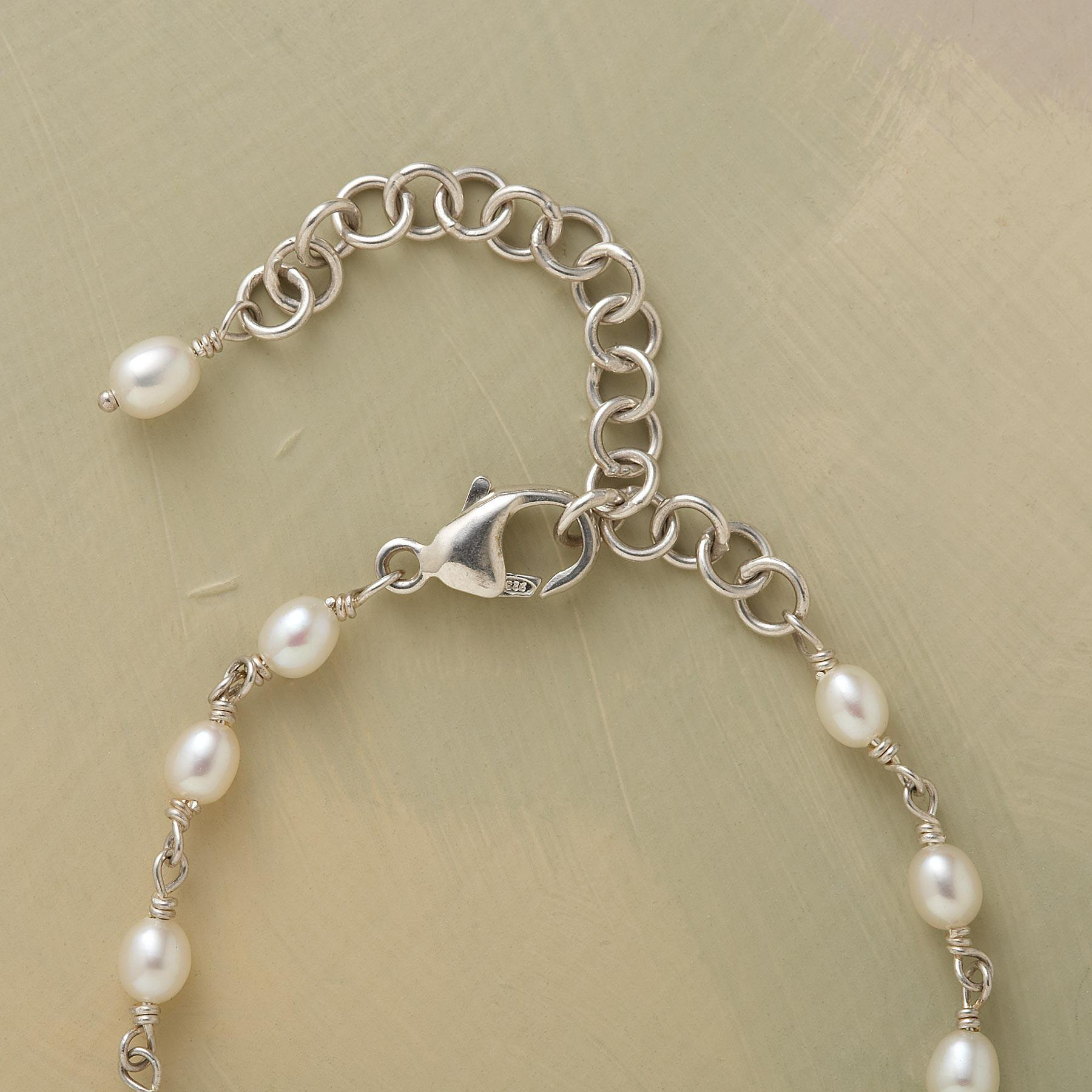 LOTUS PEARL NECKLACE: View 3