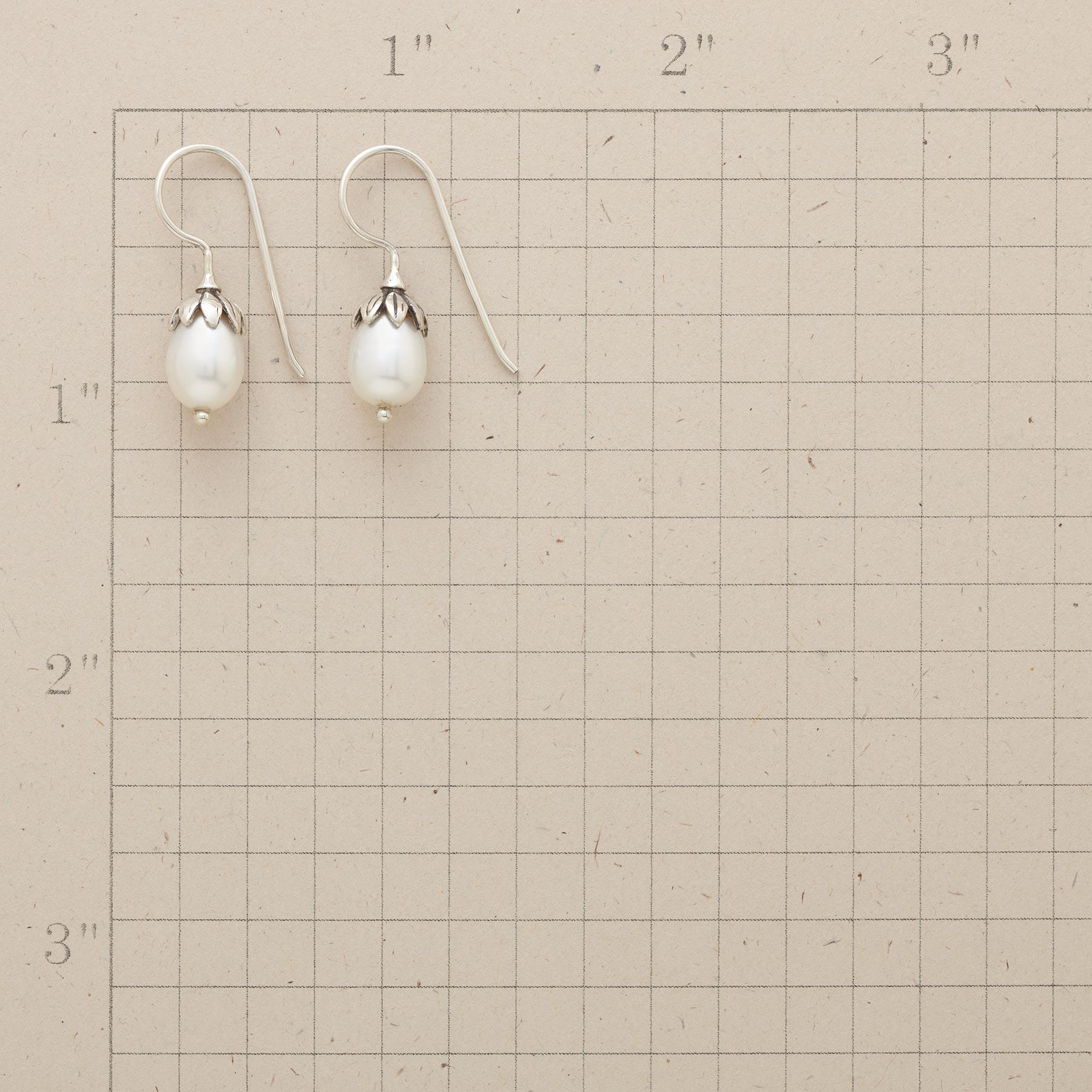 LOTUS PEARL EARRINGS: View 2