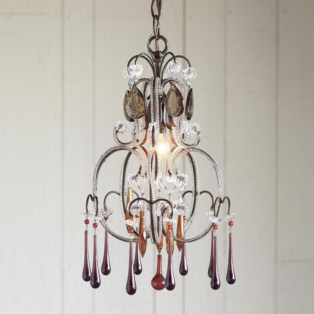 in products boho crystal previous acrylic lighting chandelier gypsy color gogetglam multi mallori sizes