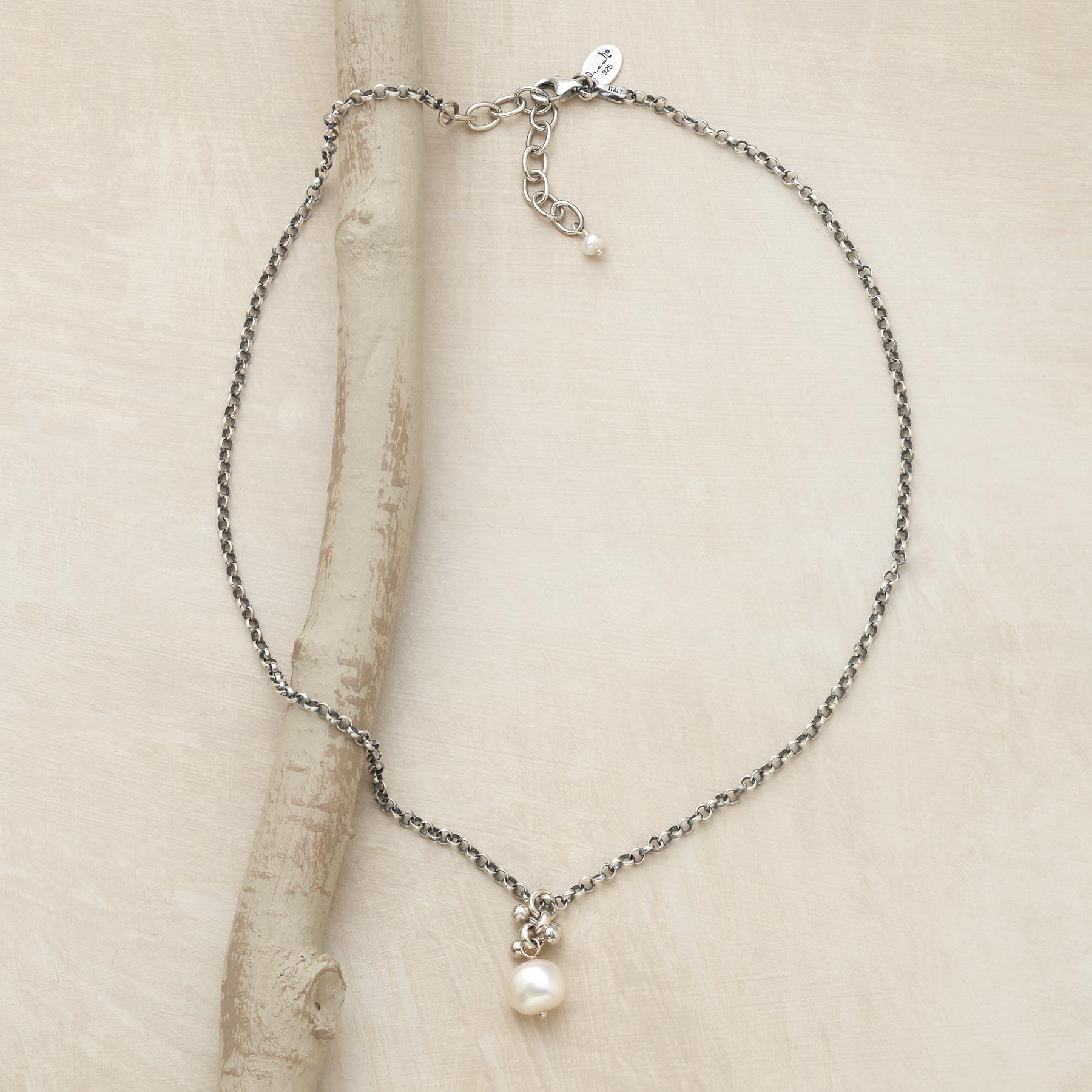 PEARL SOLITAIRE PENDANT: View 2