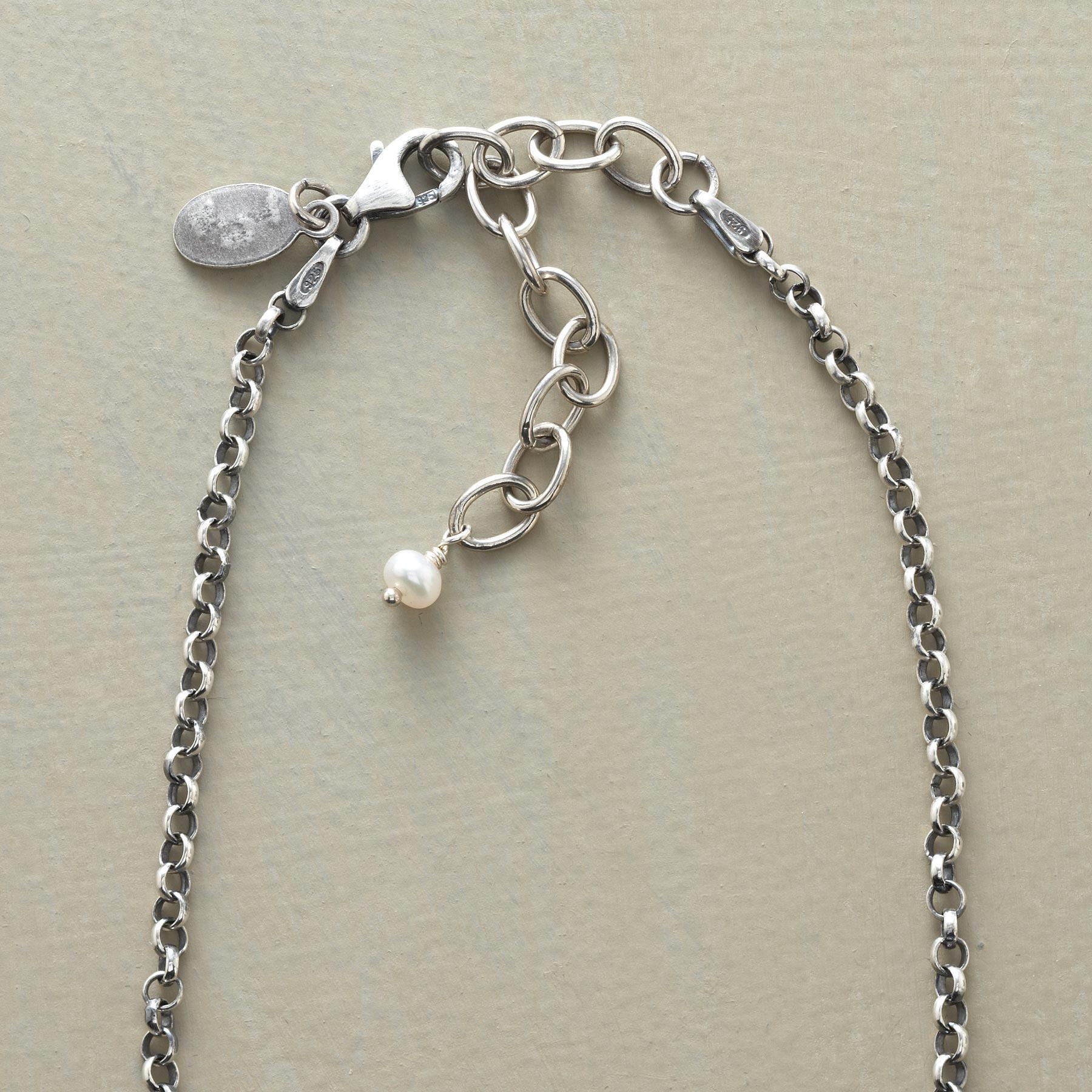 PEARL SOLITAIRE PENDANT: View 3