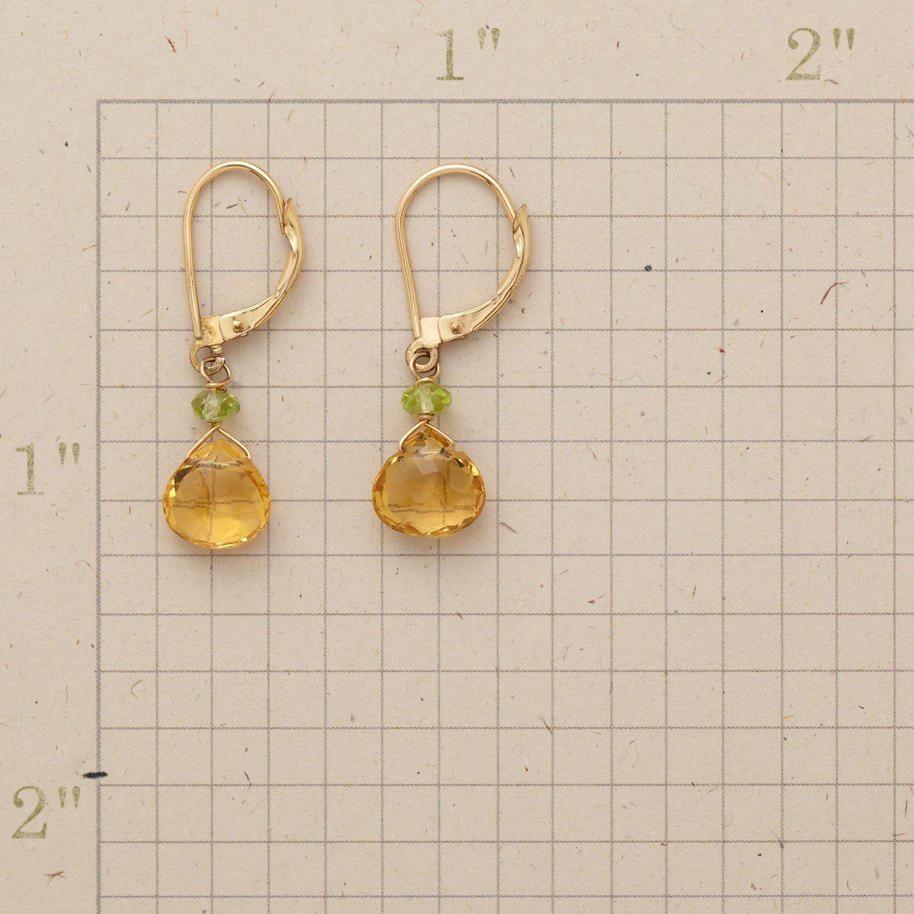 SHOW-STOPPER CITRINE EARRINGS: View 2
