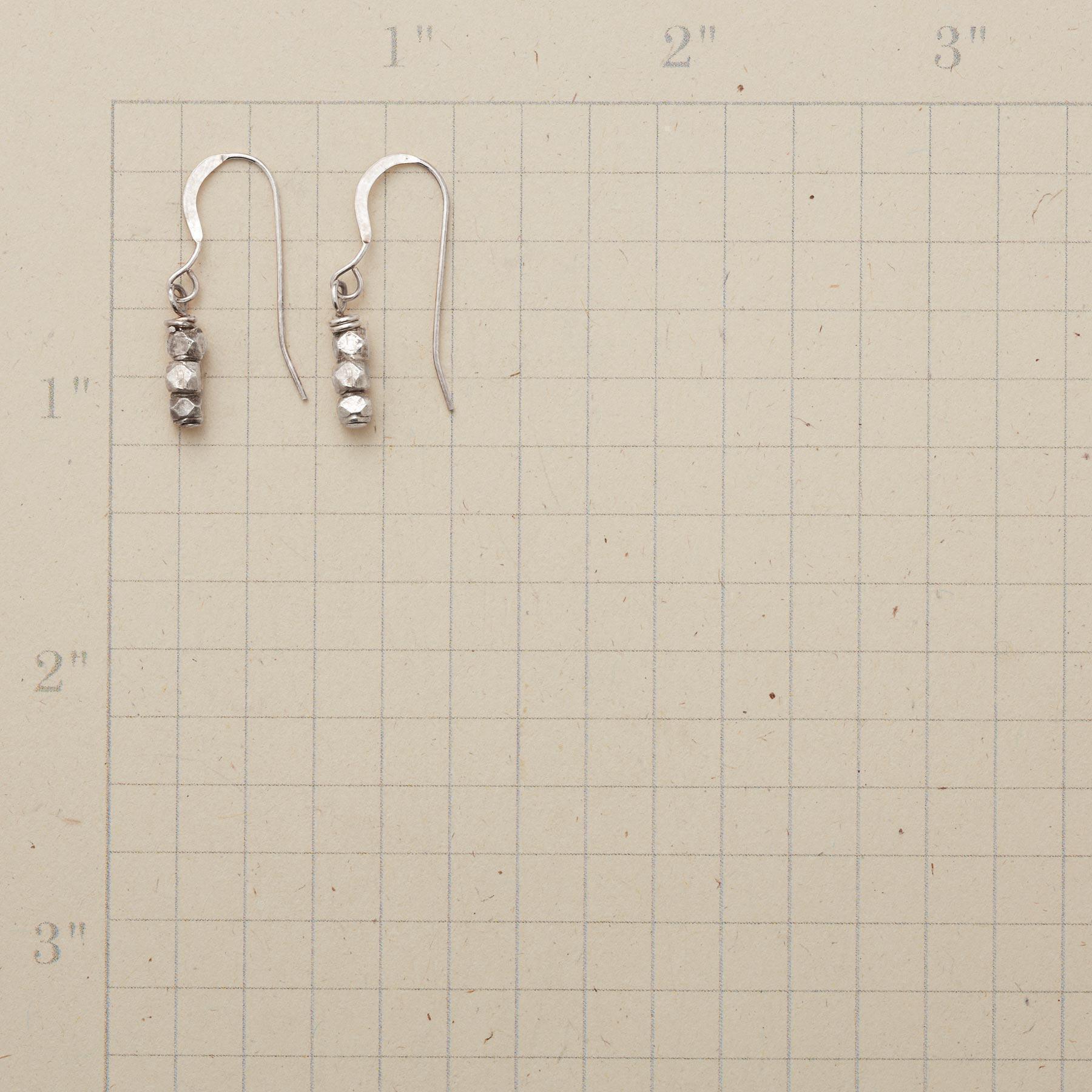 STACKS OF STERLING EARRINGS: View 2