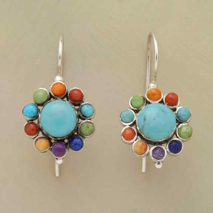 BLOOM ON A WIRE EARRINGS