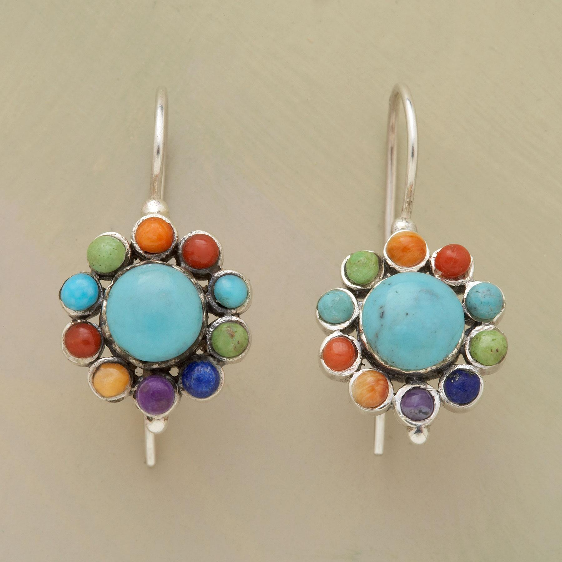 BLOOM ON A WIRE EARRINGS: View 1