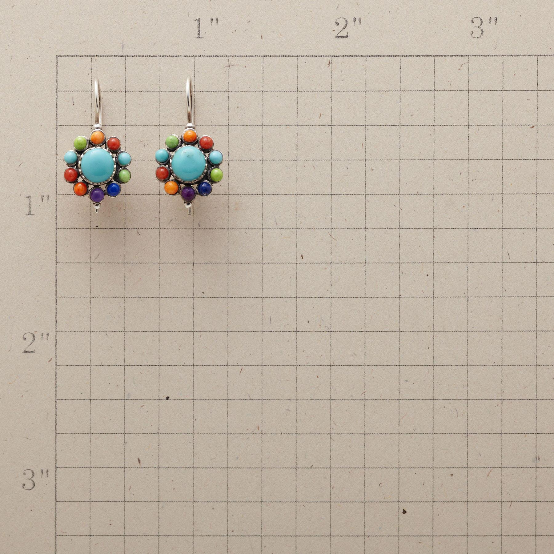 BLOOM ON A WIRE EARRINGS: View 2