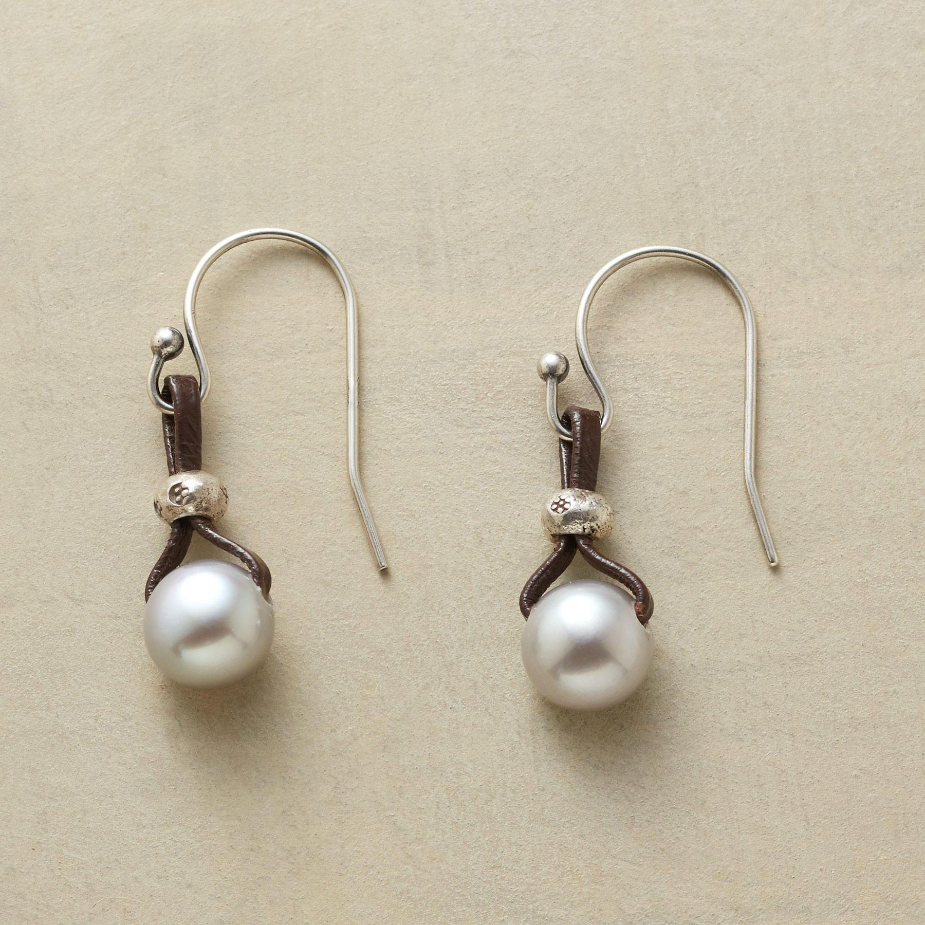 PEARLS OF WISDOM EARRINGS: View 1