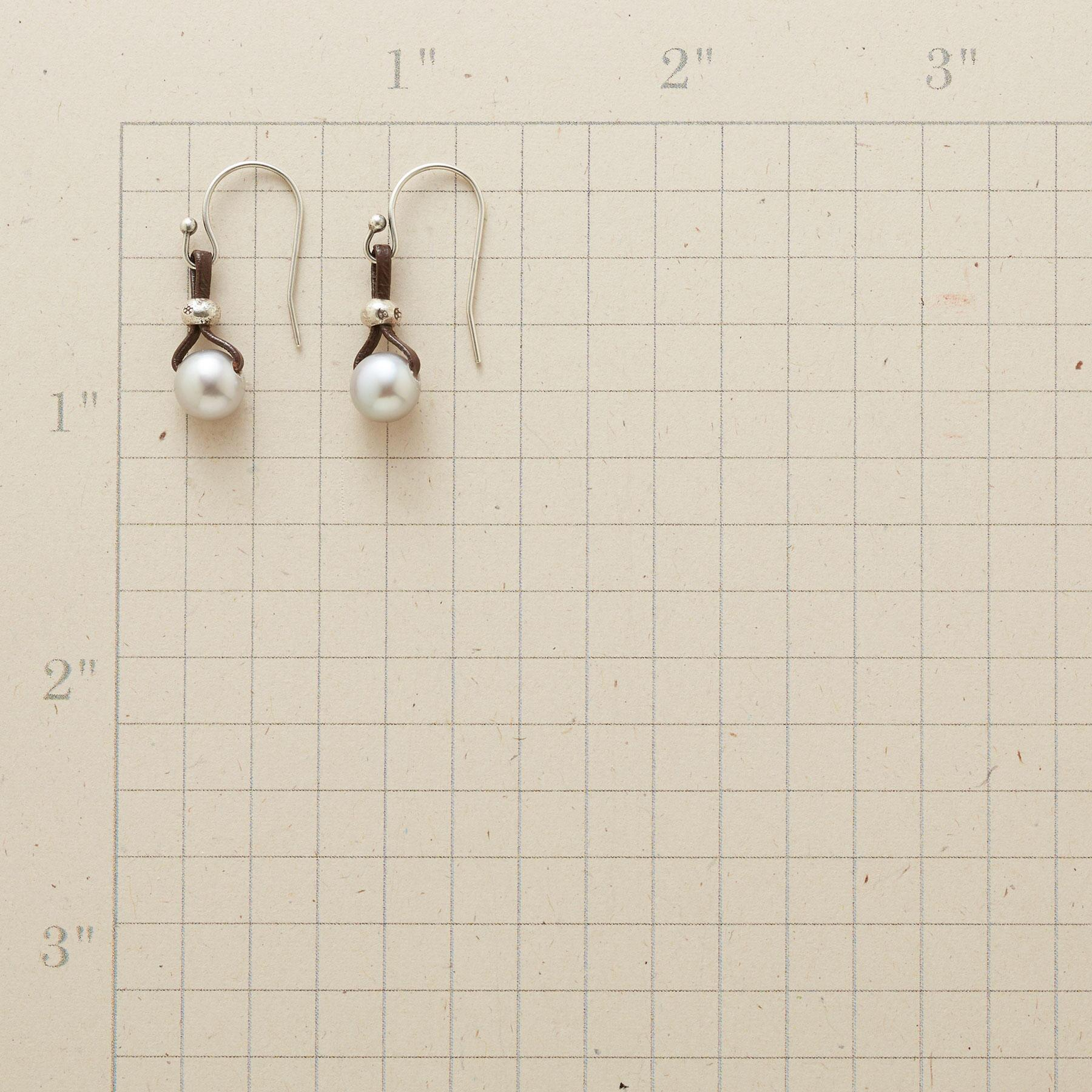 PEARLS OF WISDOM EARRINGS: View 2
