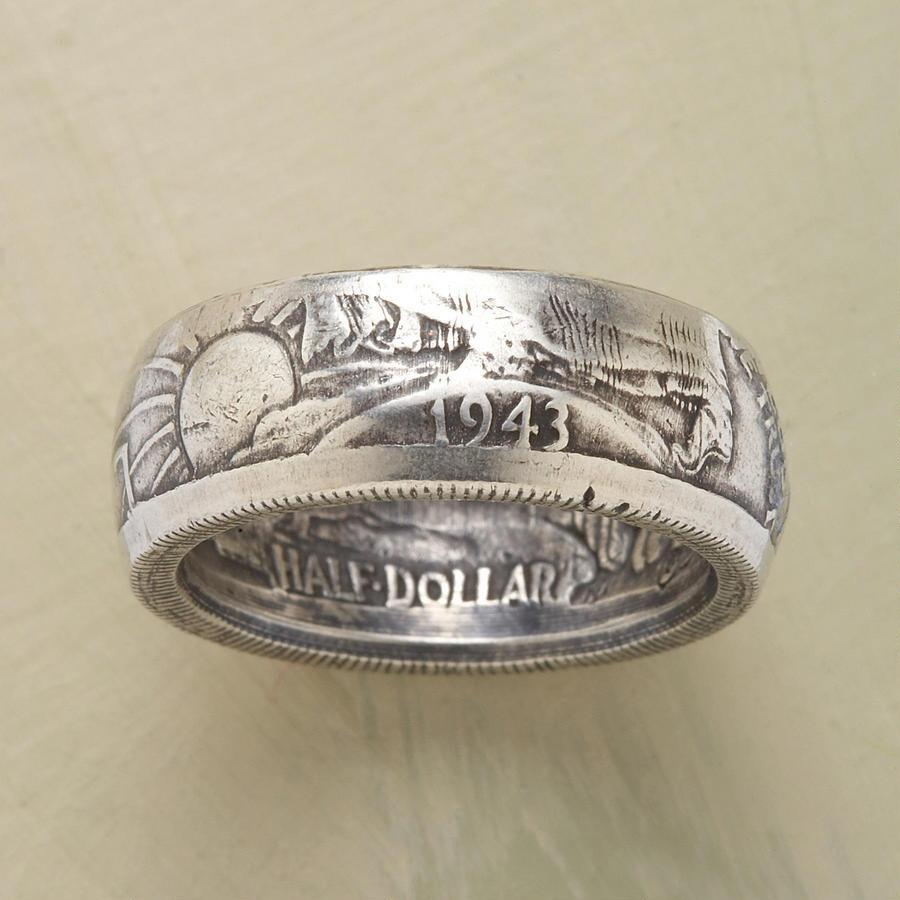 WALKING LIBERTY HALF-DOLLAR RING