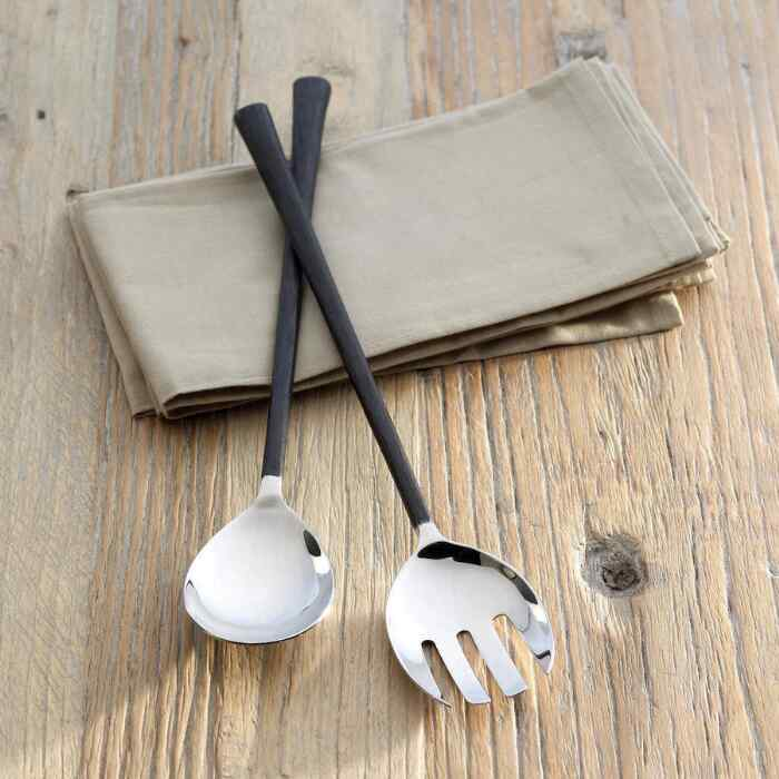 ARTISAN HAMMERED SERVING SET, 2-PIECE SET