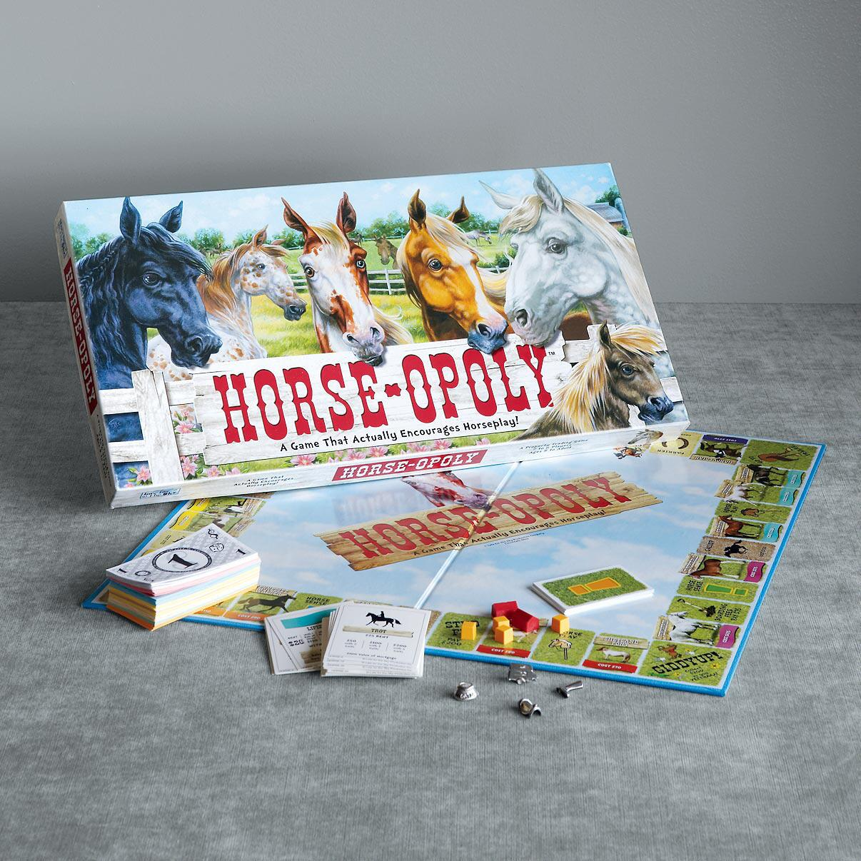 HORSE-OPOLY GAME: View 1