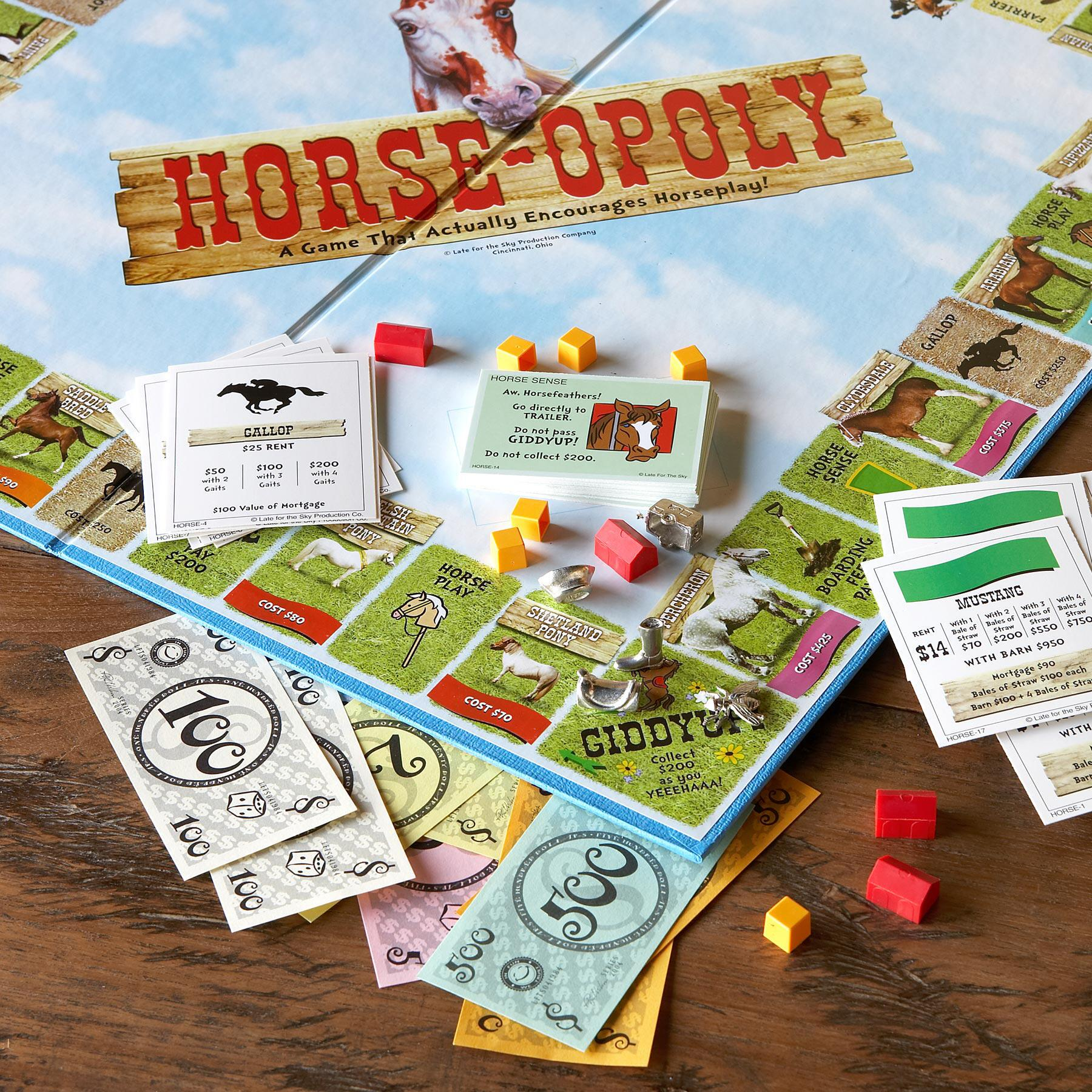 HORSE-OPOLY GAME: View 2