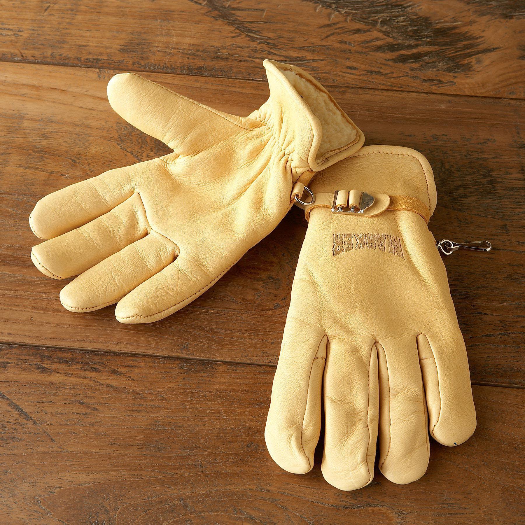 Marker® Deerskin Work Gloves: View 2