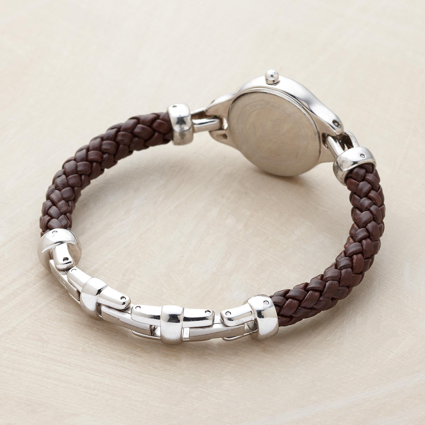 LEATHER BRACELET WATCH: View 2