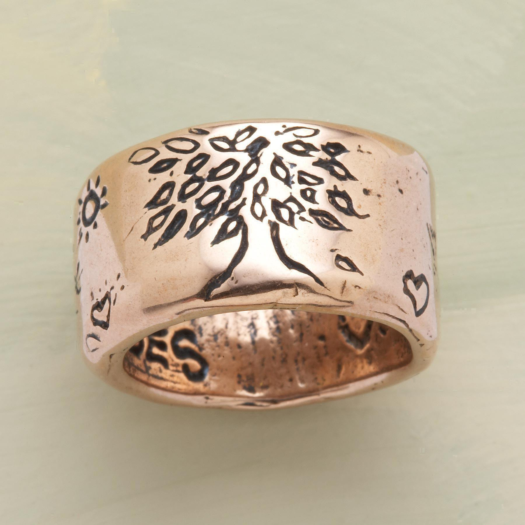 ROSE GOLD STRENGTH RING: View 1