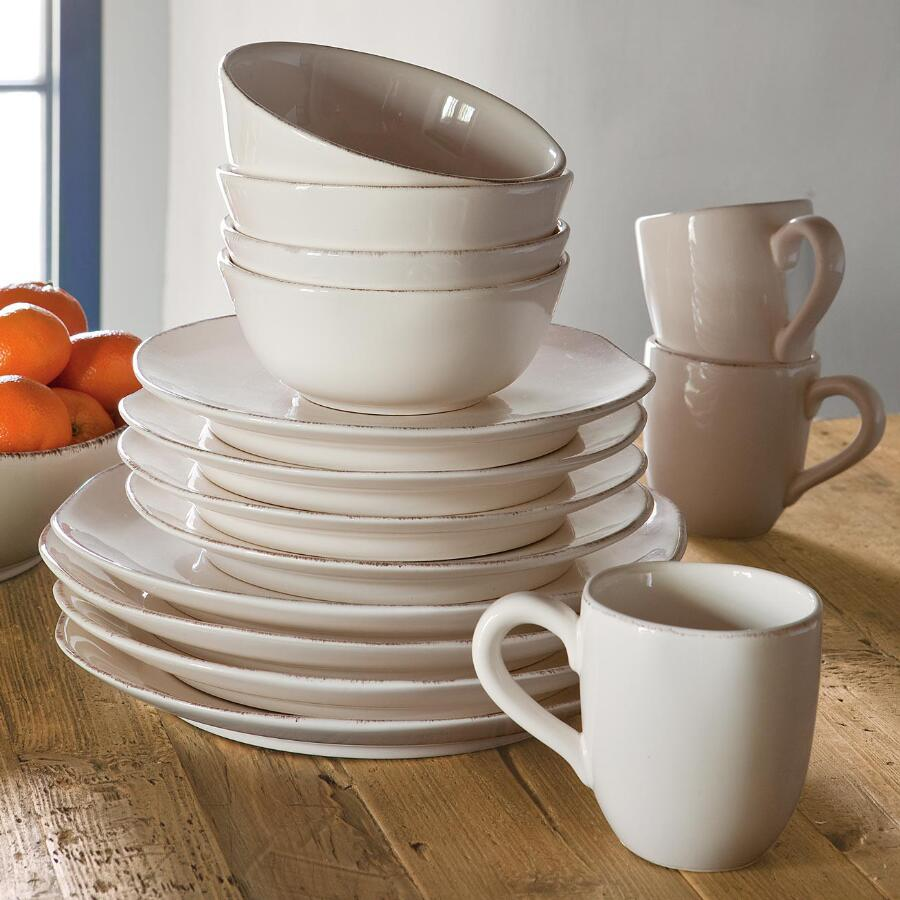 MADEIRA DINNERWARE, 16-PIECE PLACE SETTING