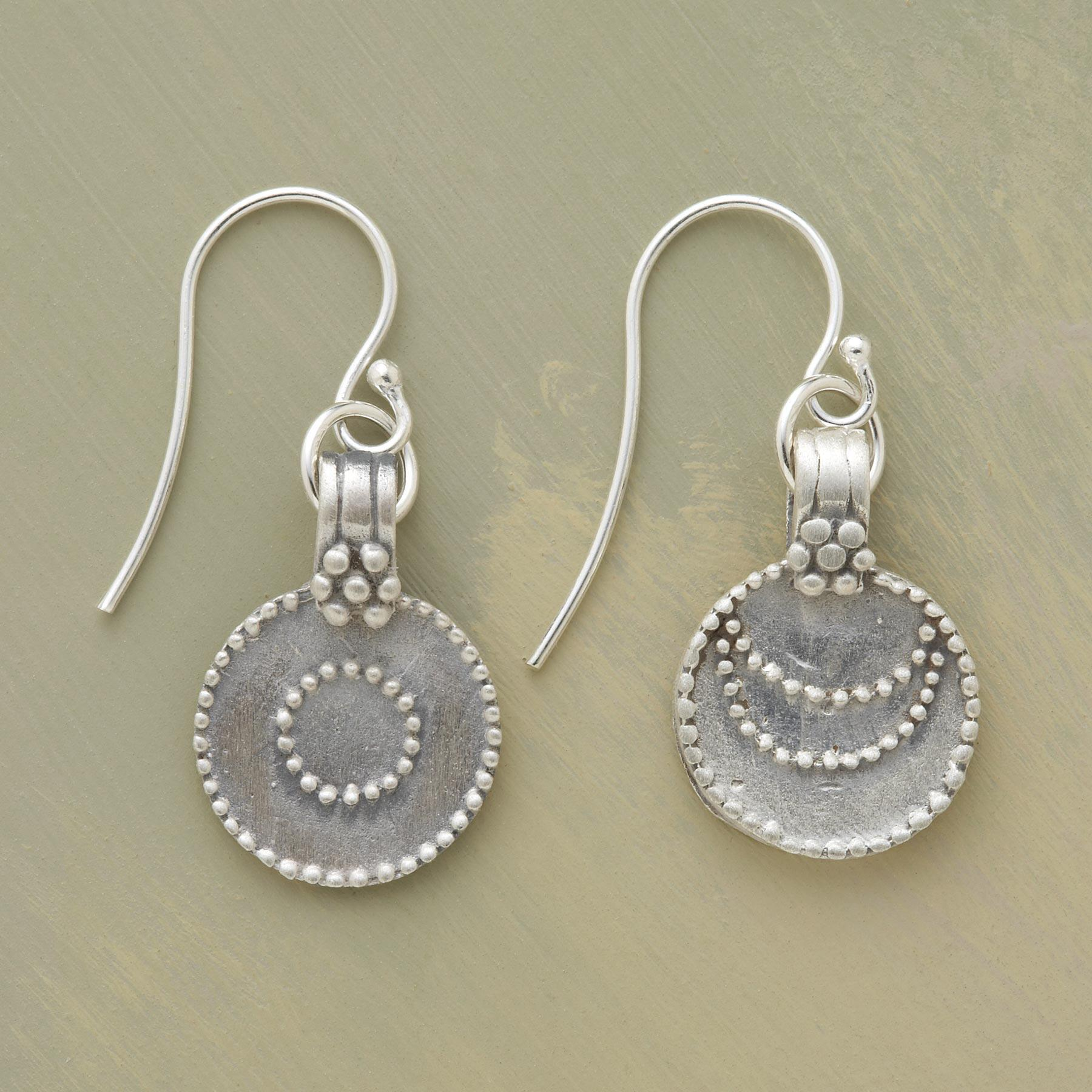 SILVER LUNA/SOL EARRINGS: View 1