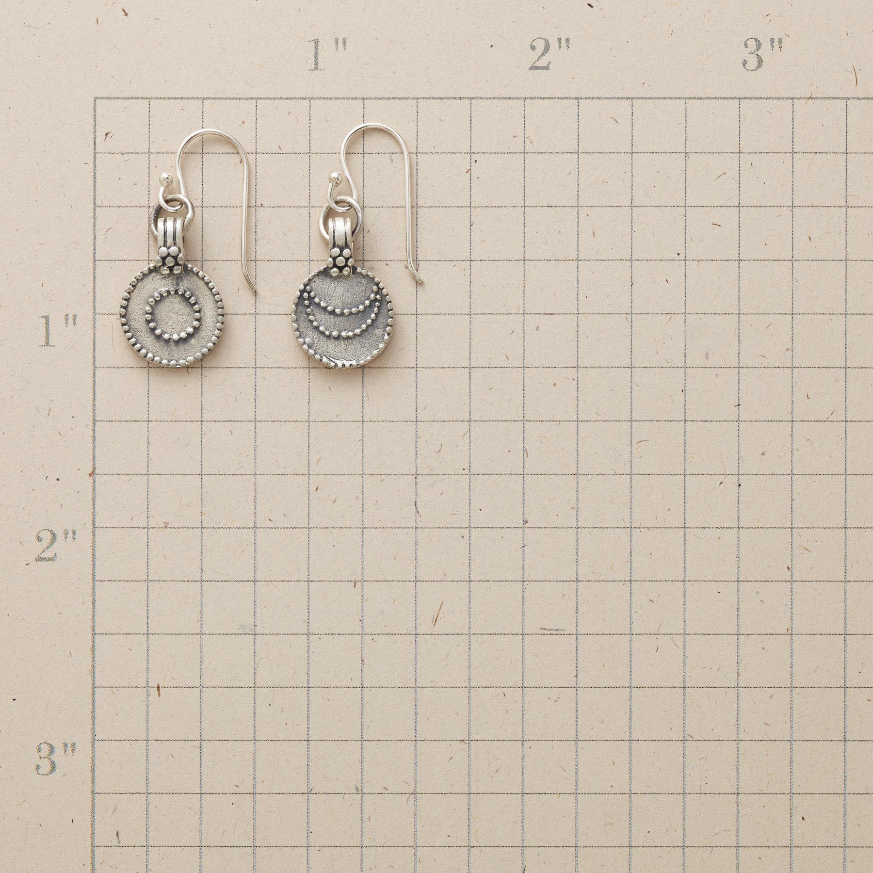 SILVER LUNA/SOL EARRINGS: View 2