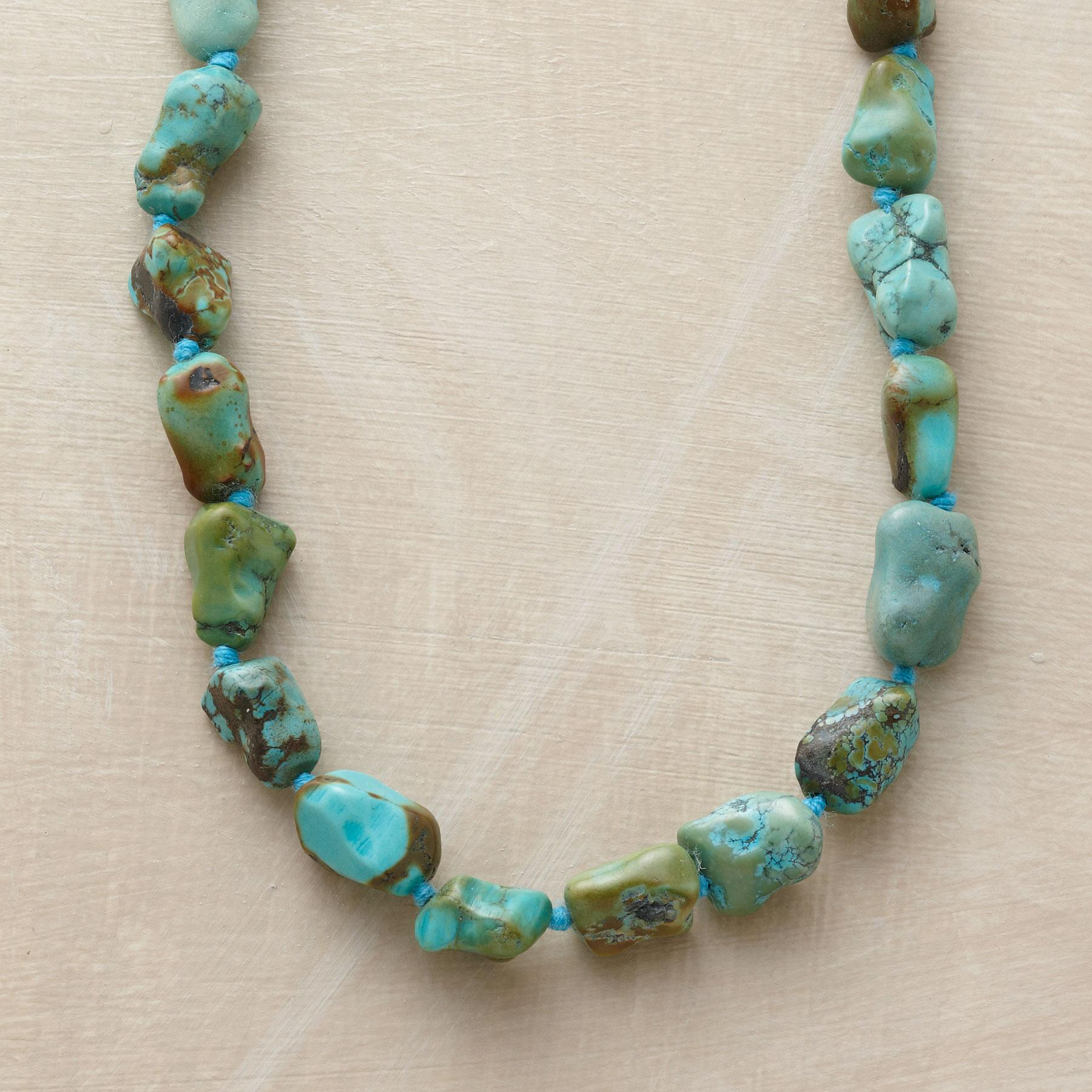 TURQUOISE SWIFT RIVER NECKLACE: View 1