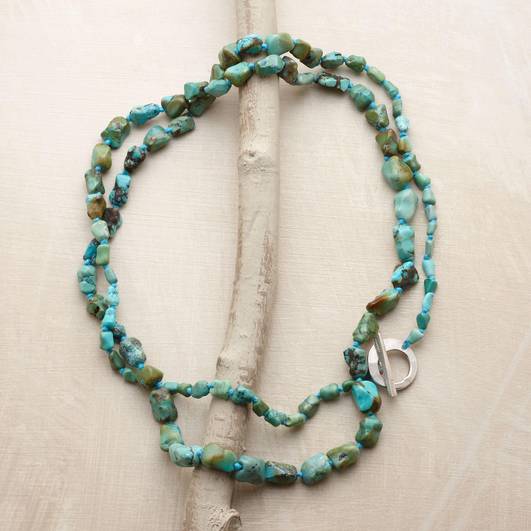TURQUOISE SWIFT RIVER NECKLACE: View 2